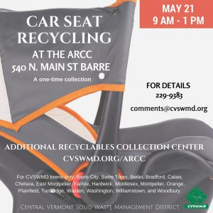 Car SEat Recycling SM Post